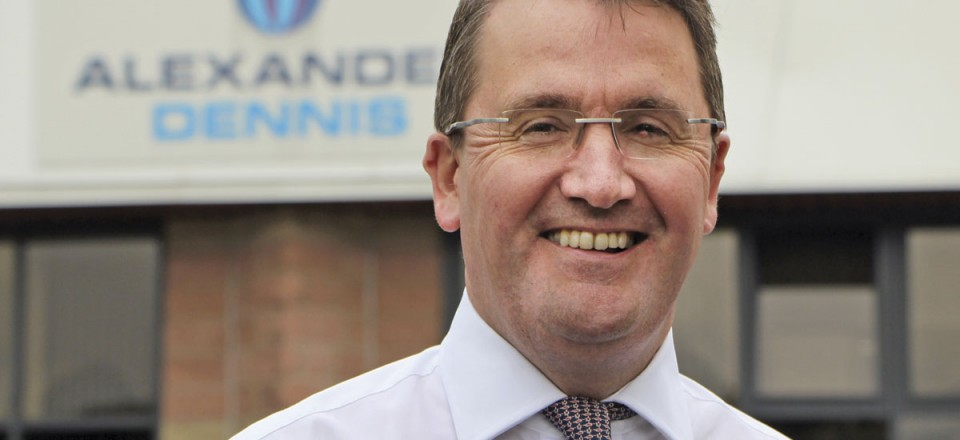 CEO, Colin Robertson