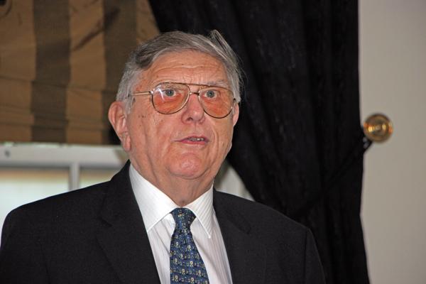 EnsignBus Chairman, Peter Newman.