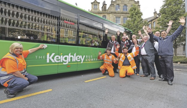 Keighley Bus Company launched