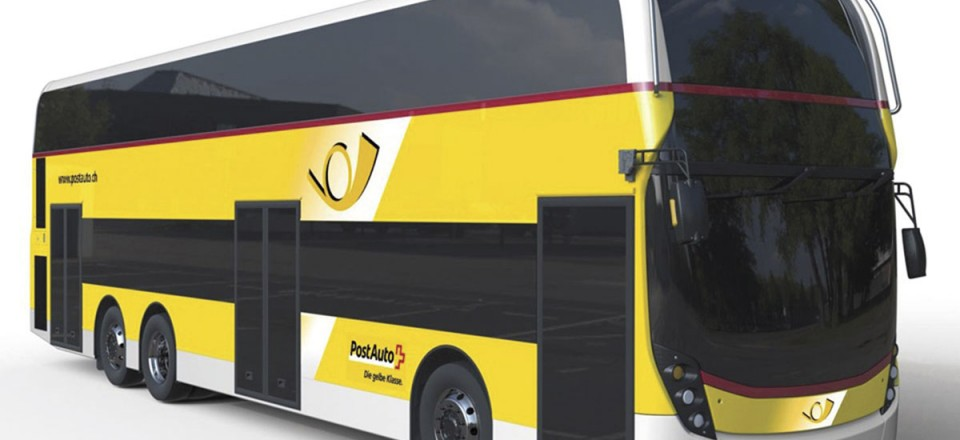 Scheduled to enter service early next year are a batch of Enviro500s for Postauto in Switzerland