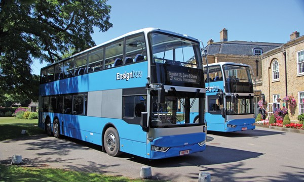 The BCI Enterprise was launched at Osset Hall a short distance from Ensignbus headquarters at Purfleet.