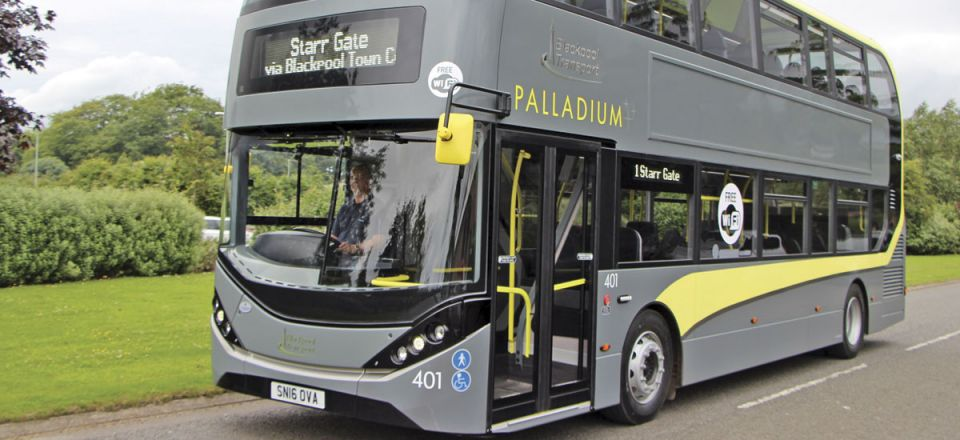 The first Enviro400 City double deckers for a provincial operator are a batch of ten for Blackpool Transport that also benefit from ADL input on livery and immersive branding
