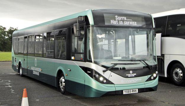 ADL's Enviro200 MMC demonstration bus.