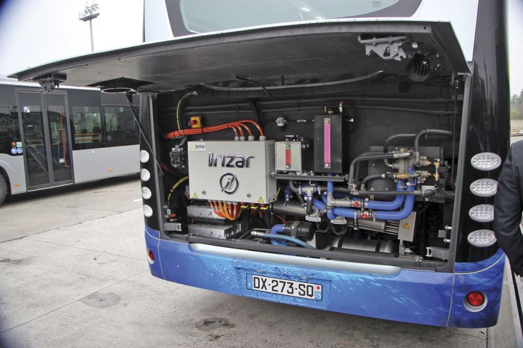 Irizar i2e-engine-bay