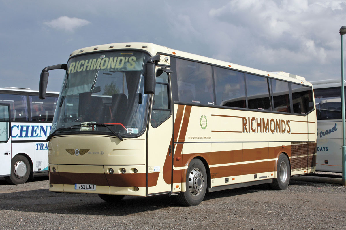 One of several similar 10.4m VDL Futura Classics to have been operated, this coach has since been sold though a similar 38 seater dating from 2012 remains in the fleet