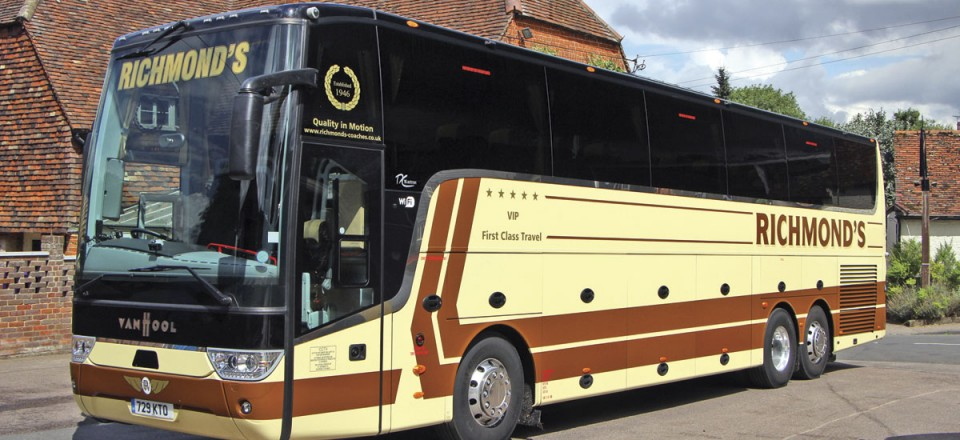 One of this year's deliveries was this DAF-engined Van Hool TX16 Astron. It seats 53