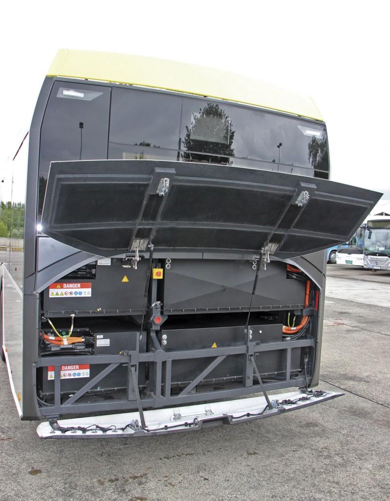 Solaris Urbino 12 Electric-engine-bay
