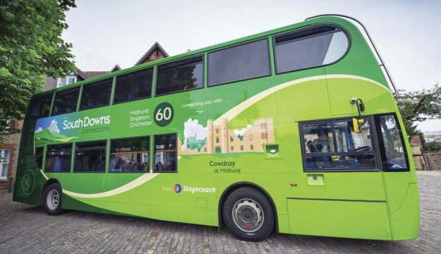 New look South Downs bus
