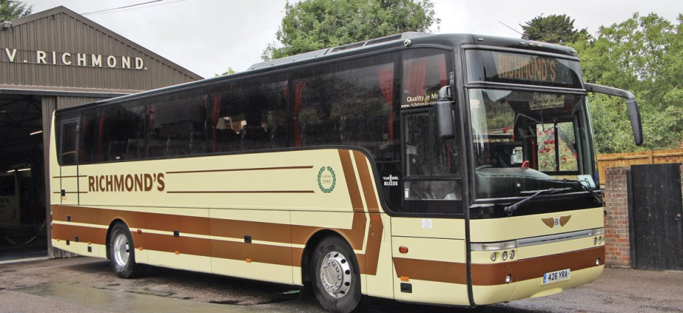 The oldest coach owned, though it hardly shows it, is this DAF SB4000 with Van Hool T9 Alizee body seating 53 that was delivered in May 2005