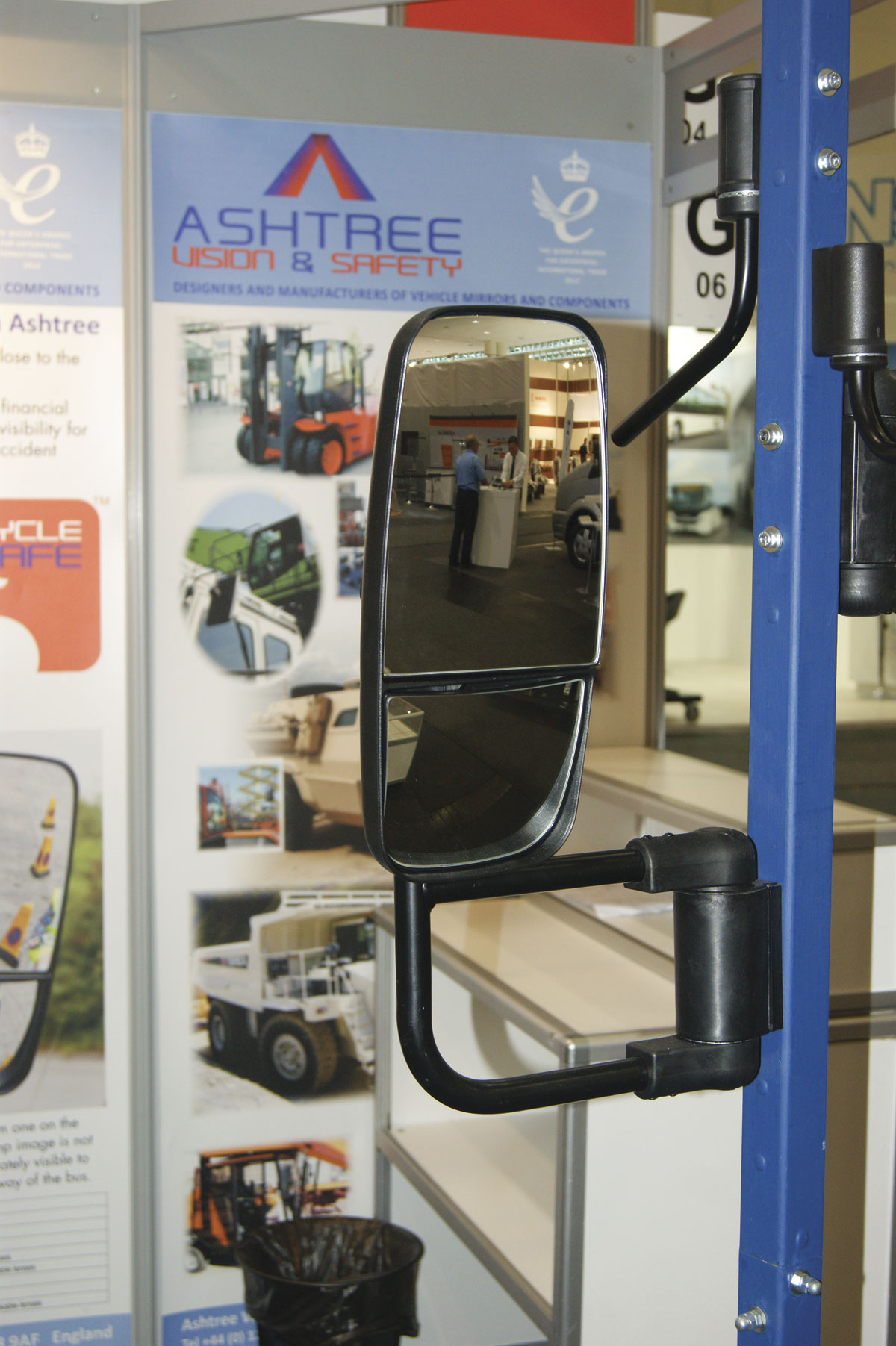 Ashtree Vision and Safety mirrors with new arms - 2