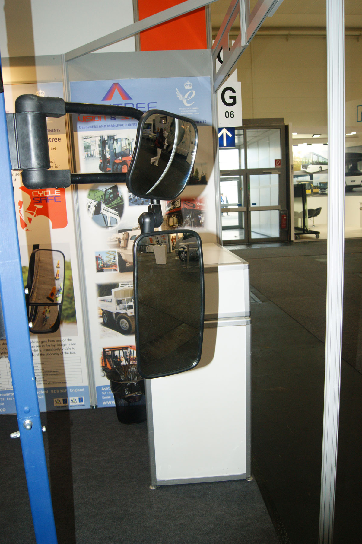 Ashtree Vision and Safety mirrors with new arms - 1
