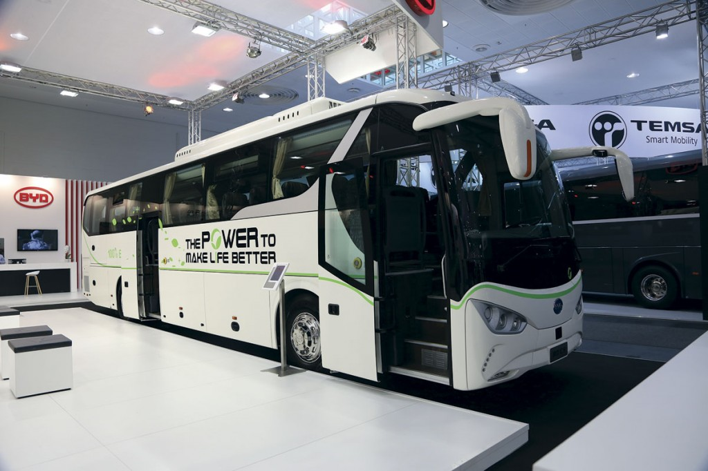 BYD electric coach