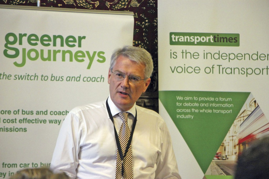 Buses Minister, Andrew Jones