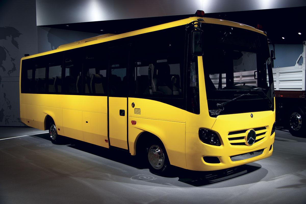 School Bus Interior Design