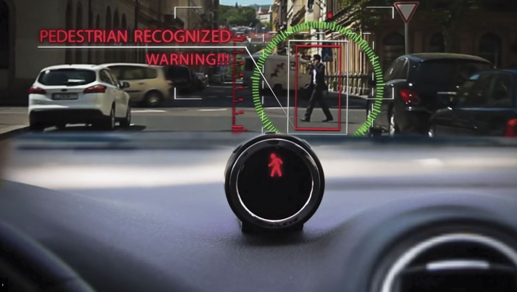 Mobileye demonstrated its Advanced Driver Assistance Systems