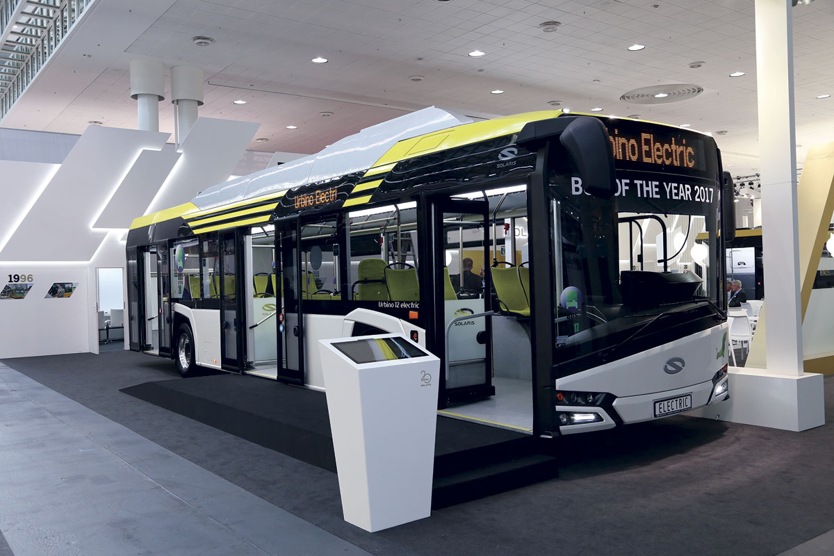 Solaris Urbino 12 Electric – Bus of the Year 2017