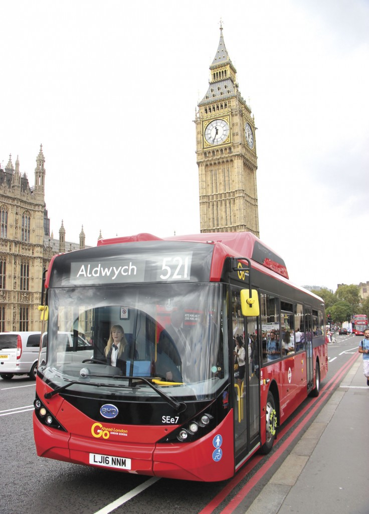 TfL plans that by 2019 all buses running within the ULEZ will be zero emission
