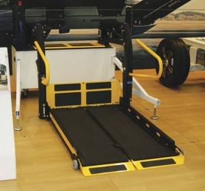 The QLD split lift on Autoadapt's stand