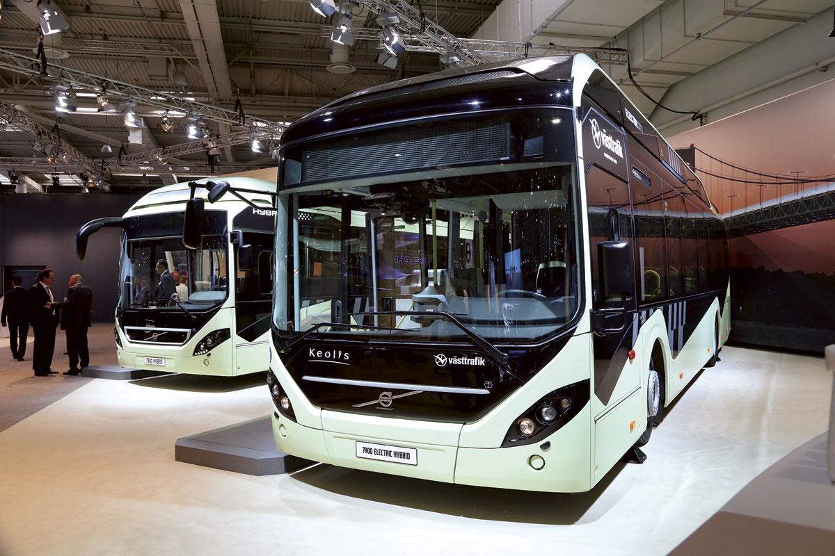 Volvo 7900 Hybrid & 7900 Hybrid Electric