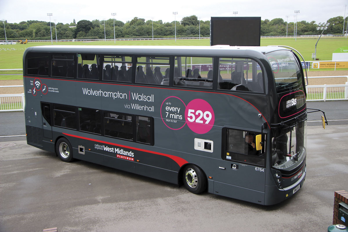 Wolverhampton is getting Platinum buses for the 529 and shortly after for the 126