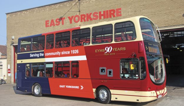 EYMS marks 90 years