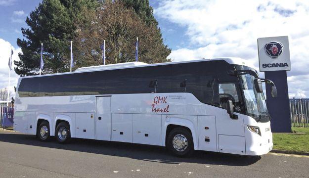 GMK Travel takes Scania Touring