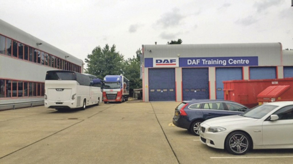Stuart Binns carried out some training at DAF's training school recently, taking a VDL Futura FHD 2 for demonstrations.