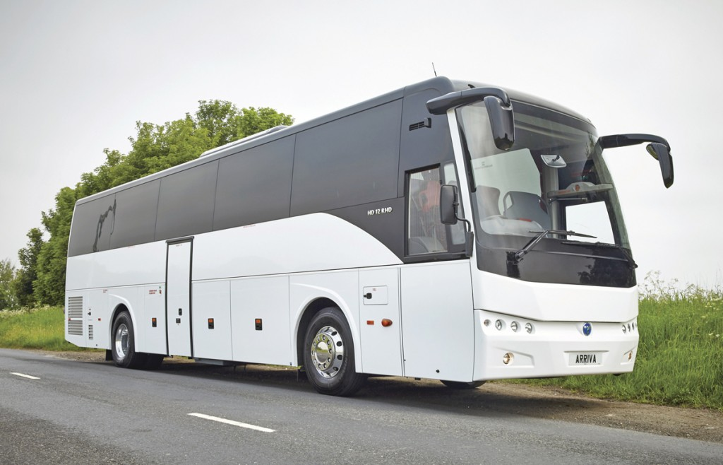 Arriva Bus and Coach currently offer two Temsa models, the Safari (above) and the MD9 (below).