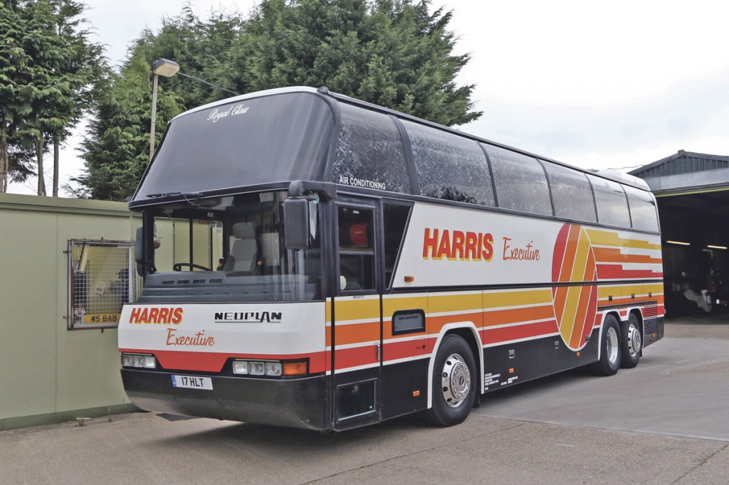 One of the Neoplan Cityliners.