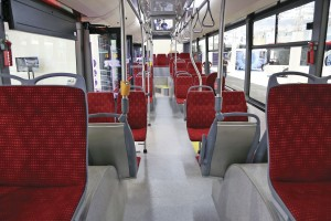 SOR City electric bus-interior