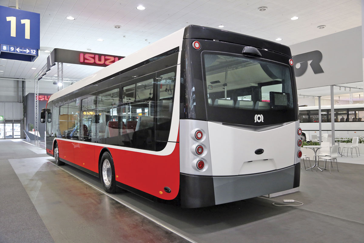 SOR City electric bus