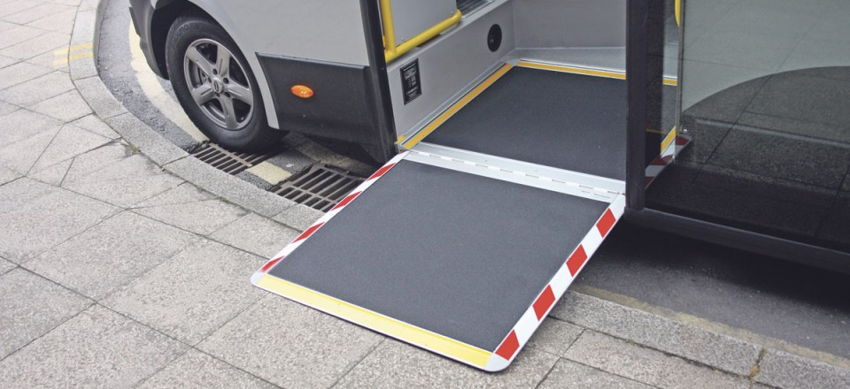 The shallow step height of 270mm which can be reduced still further with the ramp and lowering rear suspension-1