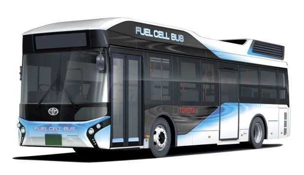 Toyota to sell fuel cell buses