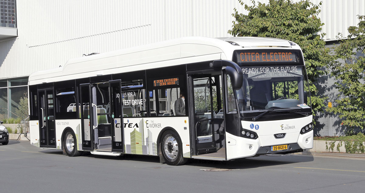 VDL Citea SLF 120 Electric demonstrator