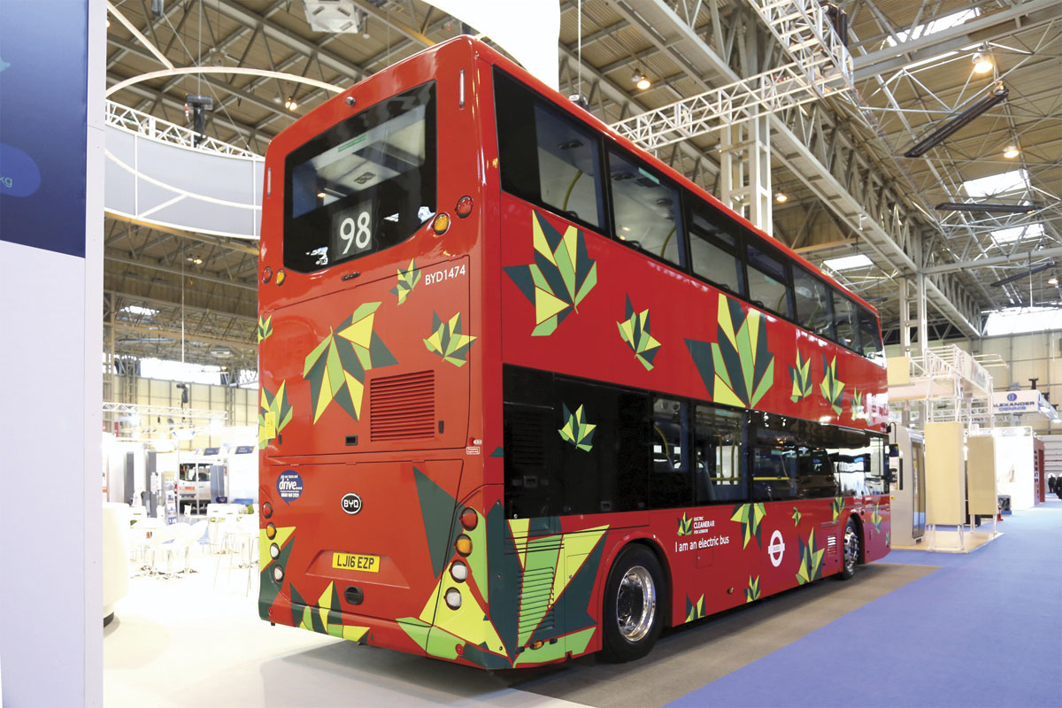 BYD Electric double-decker