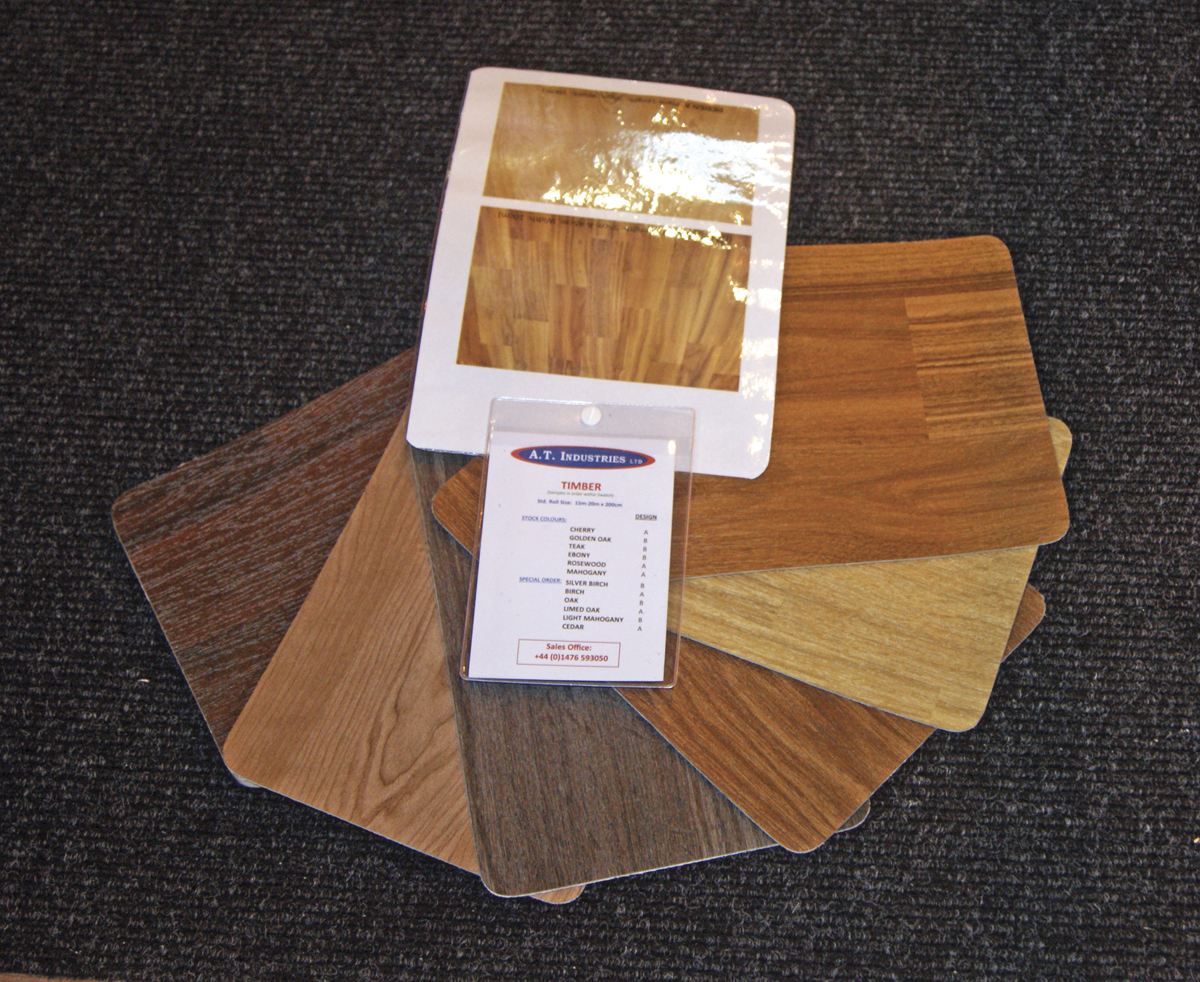 A.T. Industries' Timber flooring.