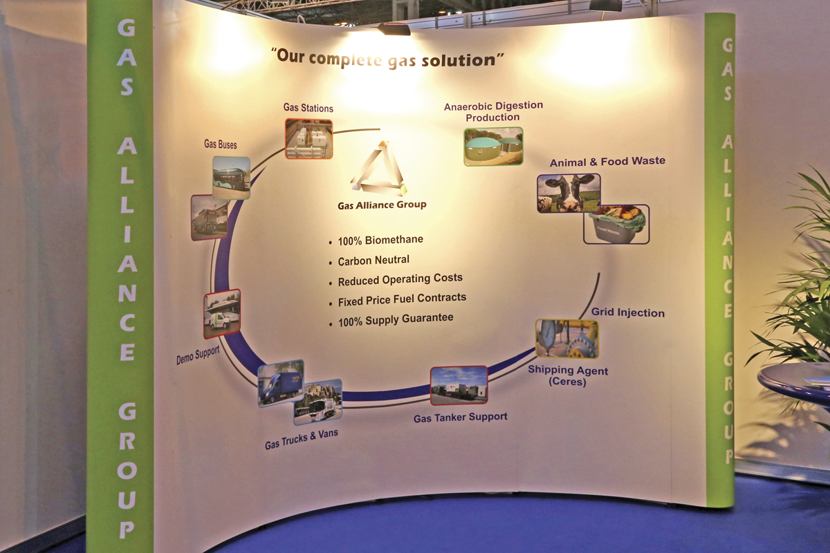 Gas Alliance explained the biomethane production cycle.