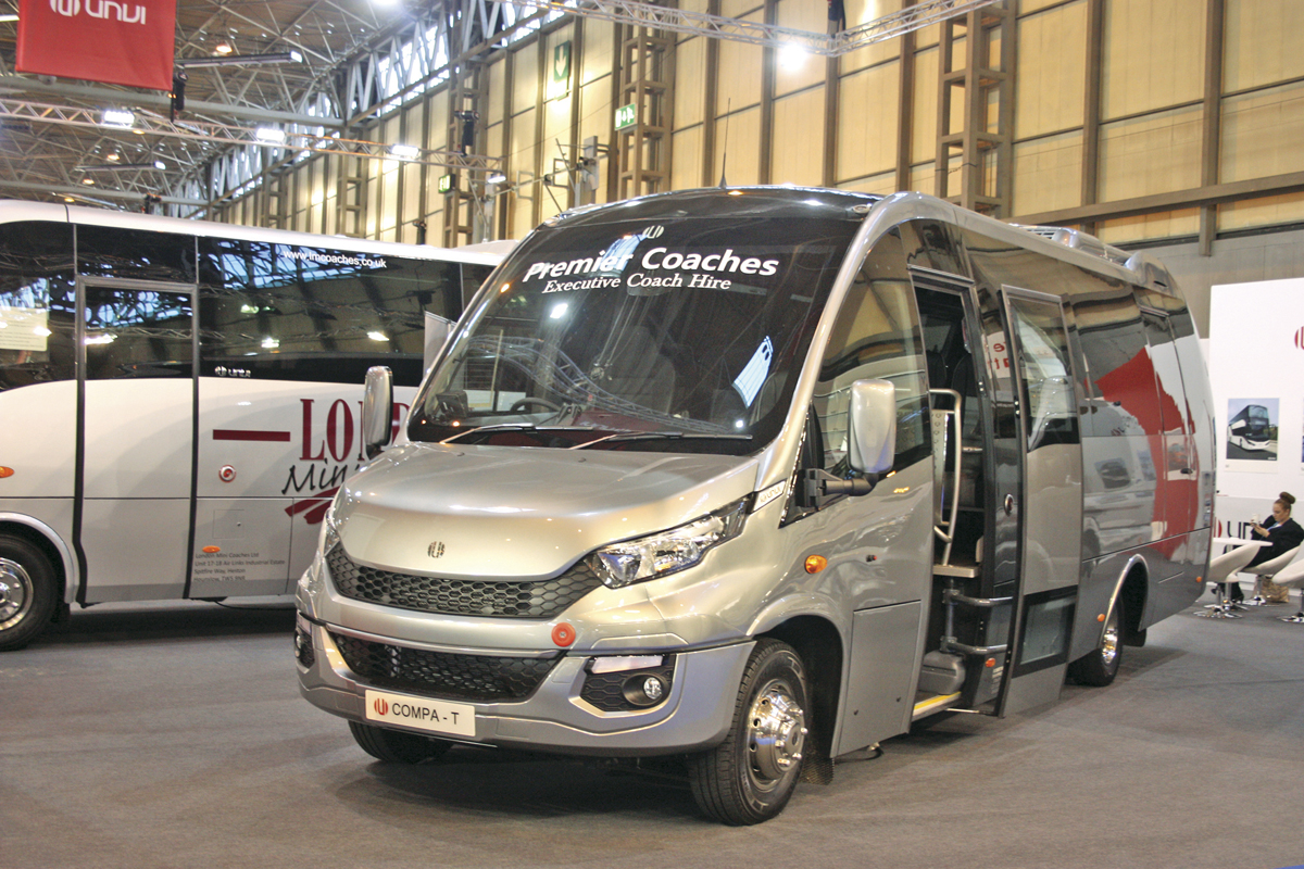 Unvi's new Compa T 25 seater built on the Iveco New Daily.