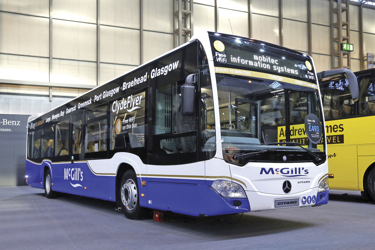 Mercedes-Benz Citaro for McGills