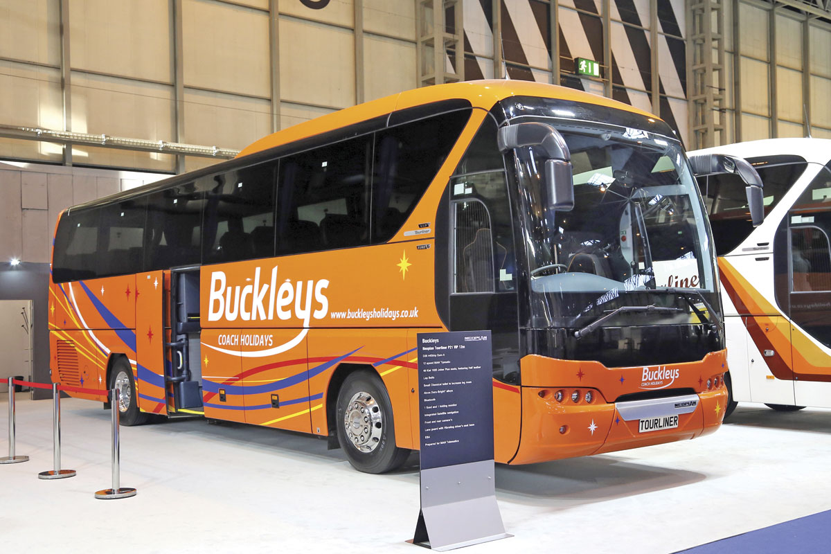 Neoplan Tourliner for Buckleys