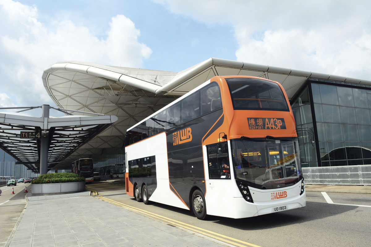 Record deliveries of Enviro 500s have been made to Hong Kong