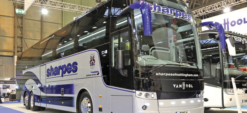 Van Hool EX16 for Sharpes supplied by Arriva