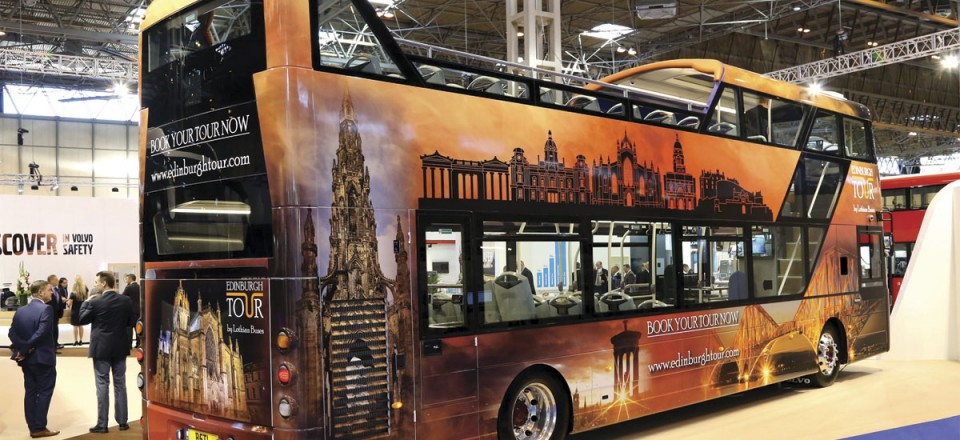 Volvo B5TL open top for Lothian Buses