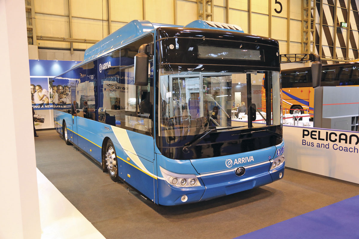 Yutong E12 full electric bus