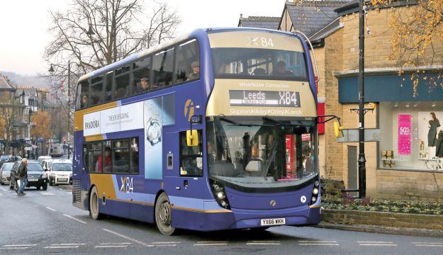 £180m Leeds bus overhaul
