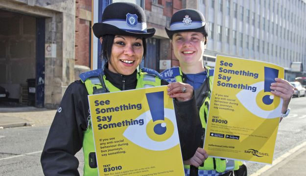 'See Something, Say Something' gets results