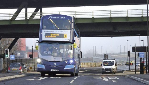 Sheffield BRT opens