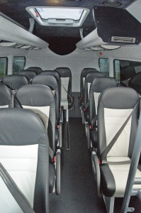 Inside the new Sprinter.
