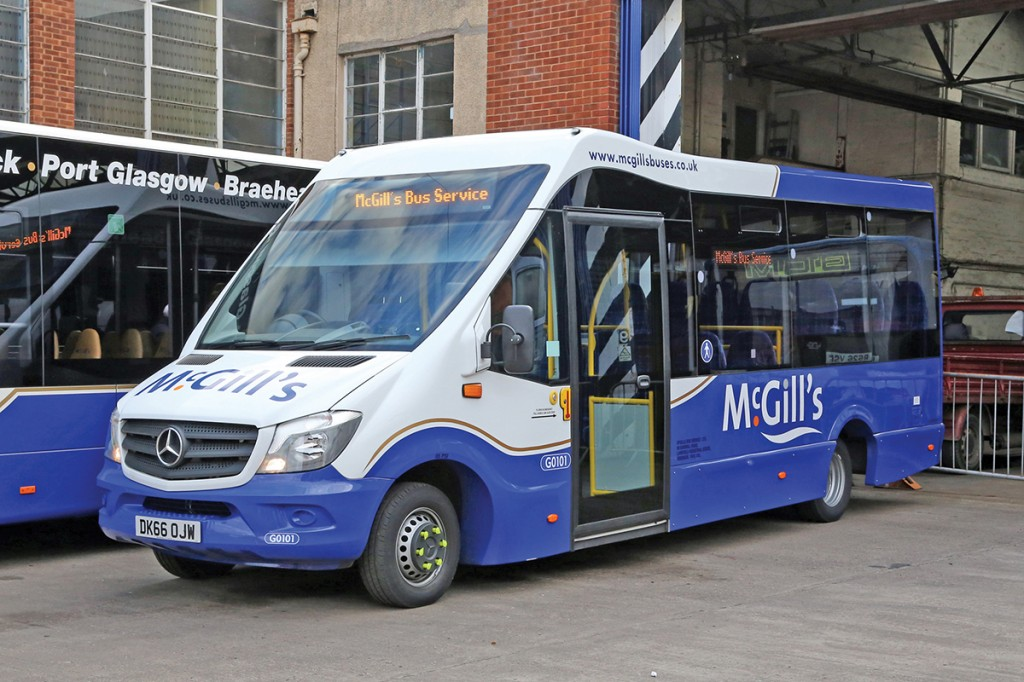 McGill's Buses was one of the first operators to recognise the potential of the Strata.