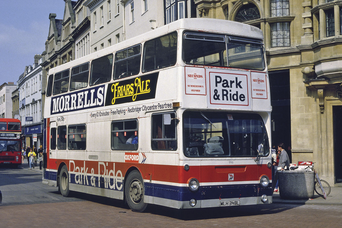 'Starsky and Hutch' liveried former Midland Red Daimler Fleetlines used in the 1970s